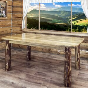 Tustin 4 Post Dining Table by Loon Peak