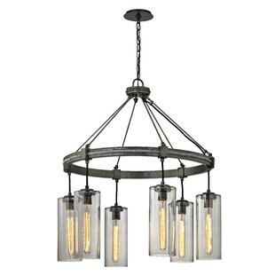 Troy Lighting Union Square 6-Light Shaded Chandelier
