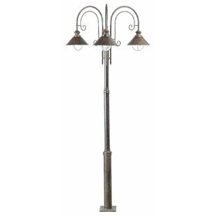 Best Price Holyoke 3 Light 225cm Outdoor Post Lantern Set