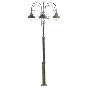 Holyoke 3 Light 225cm Outdoor Post Lantern Set By Borough Wharf