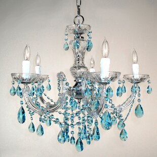 Classic Lighting Rialto 5-Light Candle Style Chandelier