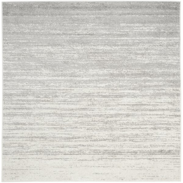 Mercury Row Mcguire Ivory/Silver Area Rug & Reviews by Mercury Row