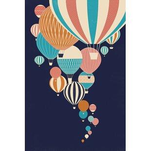 'Balloons' Graphic Art Print