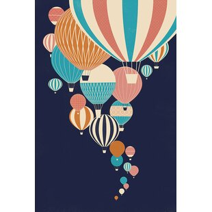 'Balloons' Graphic Art Print