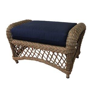 Charleston Ottoman with Cushion by ElanaMar Designs