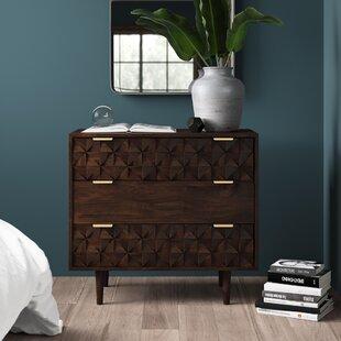 Banach 3 Drawer Dresser by..