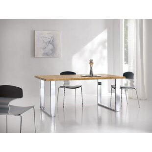 Theophile Dining Table by Orren Ellis Modern