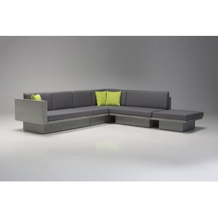 Mensae Modular Sectional with Ottoman