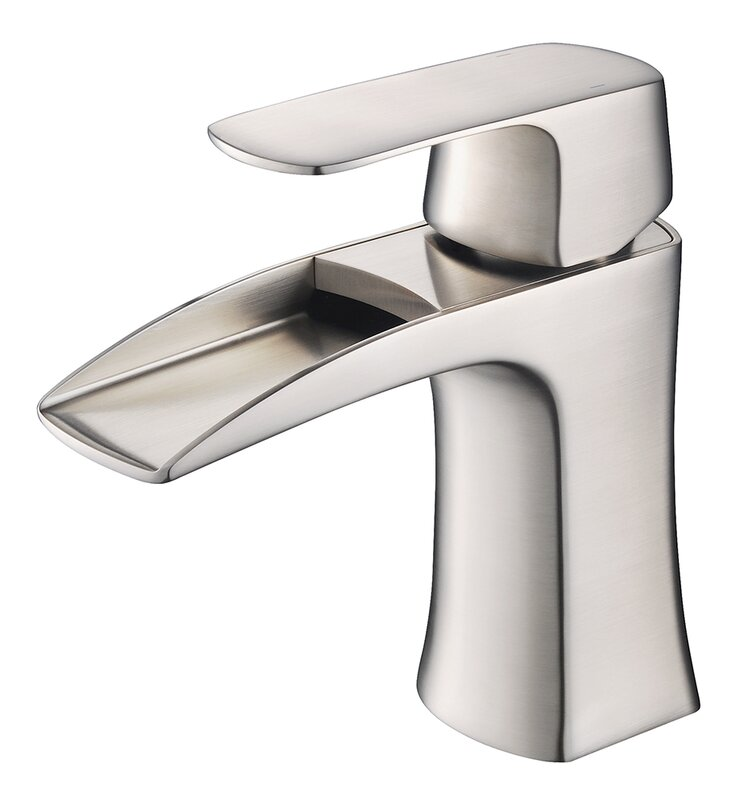 Fresca Fortore Single Hole Waterfall Faucet & Reviews | Wayfair