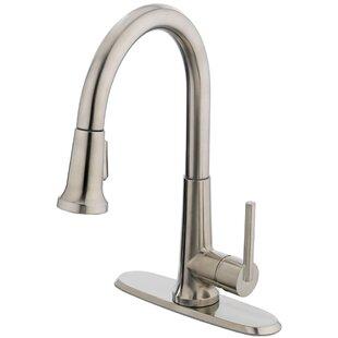 Estora Pull Down Single Handle Kitchen Faucet
