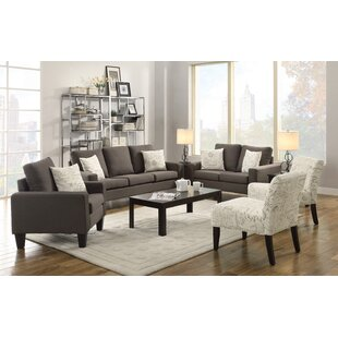 Price comparison Bora Configurable Living Room Set by Latitude Run Reviews (2019) & Buyer's Guide