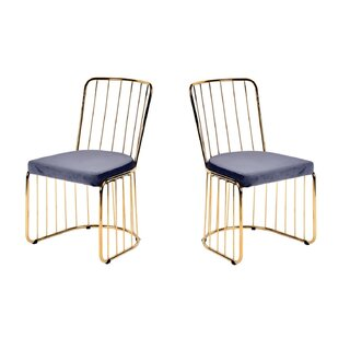 Alemany Upholstered Dining Chair (Set of 2) by Mercer41 SKU:EA324024 Check Price