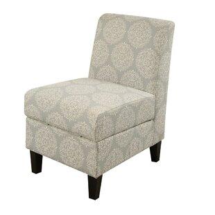 Pieper Living Room Slipper Chair with Hidden Storage