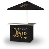 Woliung Valentines All You Need Is Love 2-Piece Home Bar Set