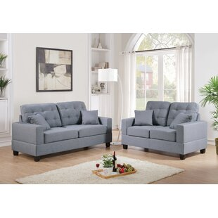 Best Choices 2 Piece Living Room Set by Infini Furnishings Reviews (2019) & Buyer's Guide