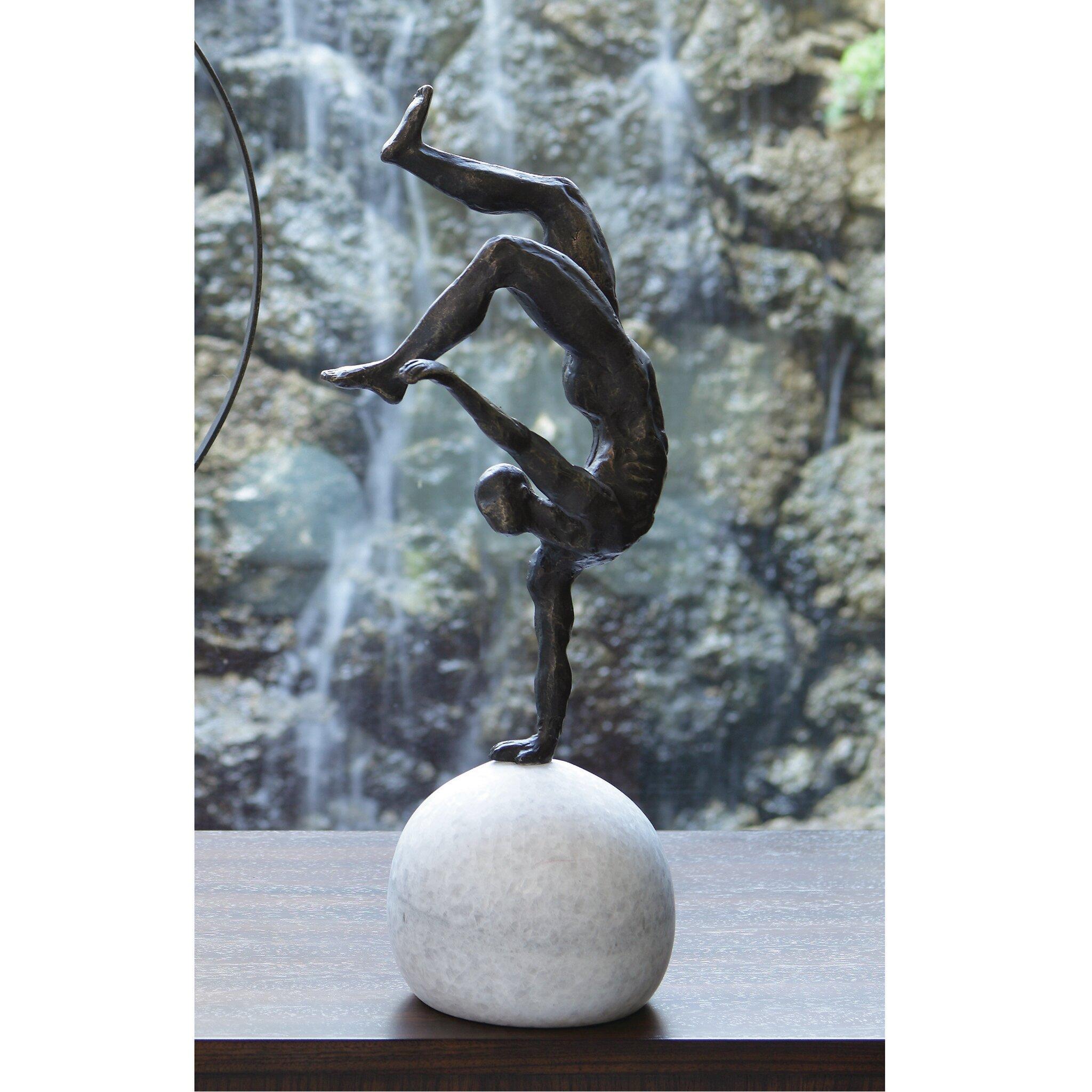 Global Views One Hand Balancing Act Sculpture Wayfair