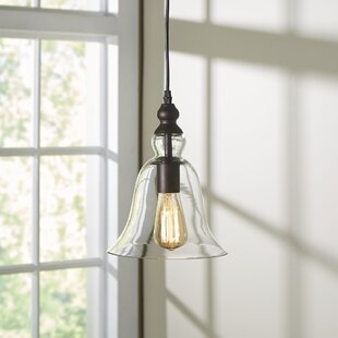 Laurel Foundry Modern Farmhouse Bouvet 1-Light Bell Pendant