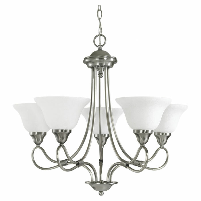 Alcott Hill Atterberry 5 Light Shaded Classic Traditional Chandelier Reviews Wayfair