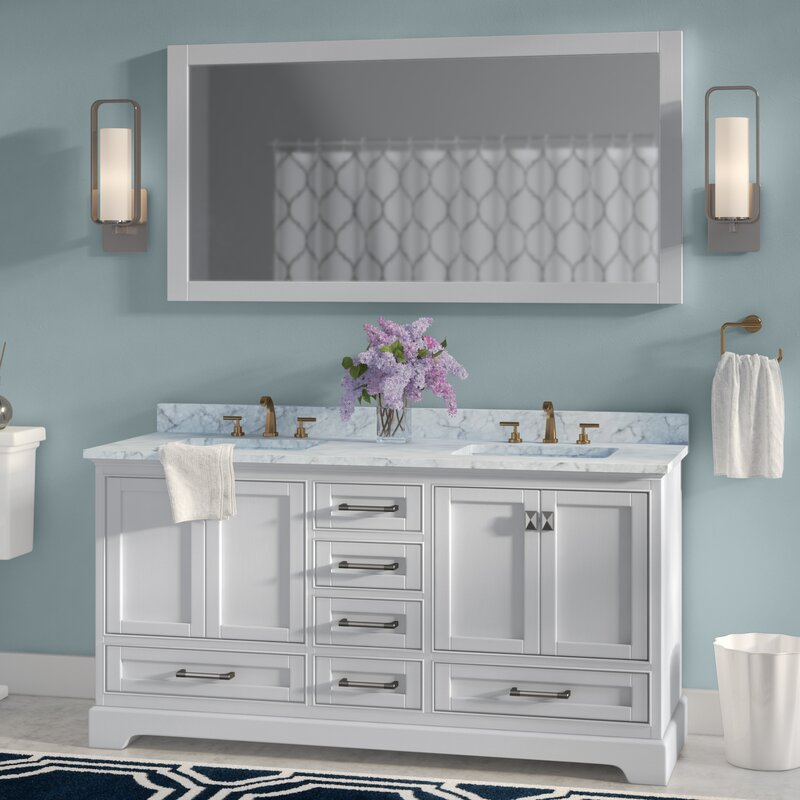 double sink bathroom vanity. stian 60\ double sink bathroom vanity