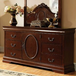 Astoria Grand Babineaux 6 Drawer Combo Dresser