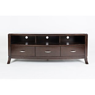 Letellier Wooden Media Console Table