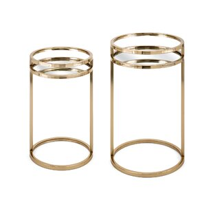 Bartlet 2 Piece Nesting Tables by Gracie Oaks