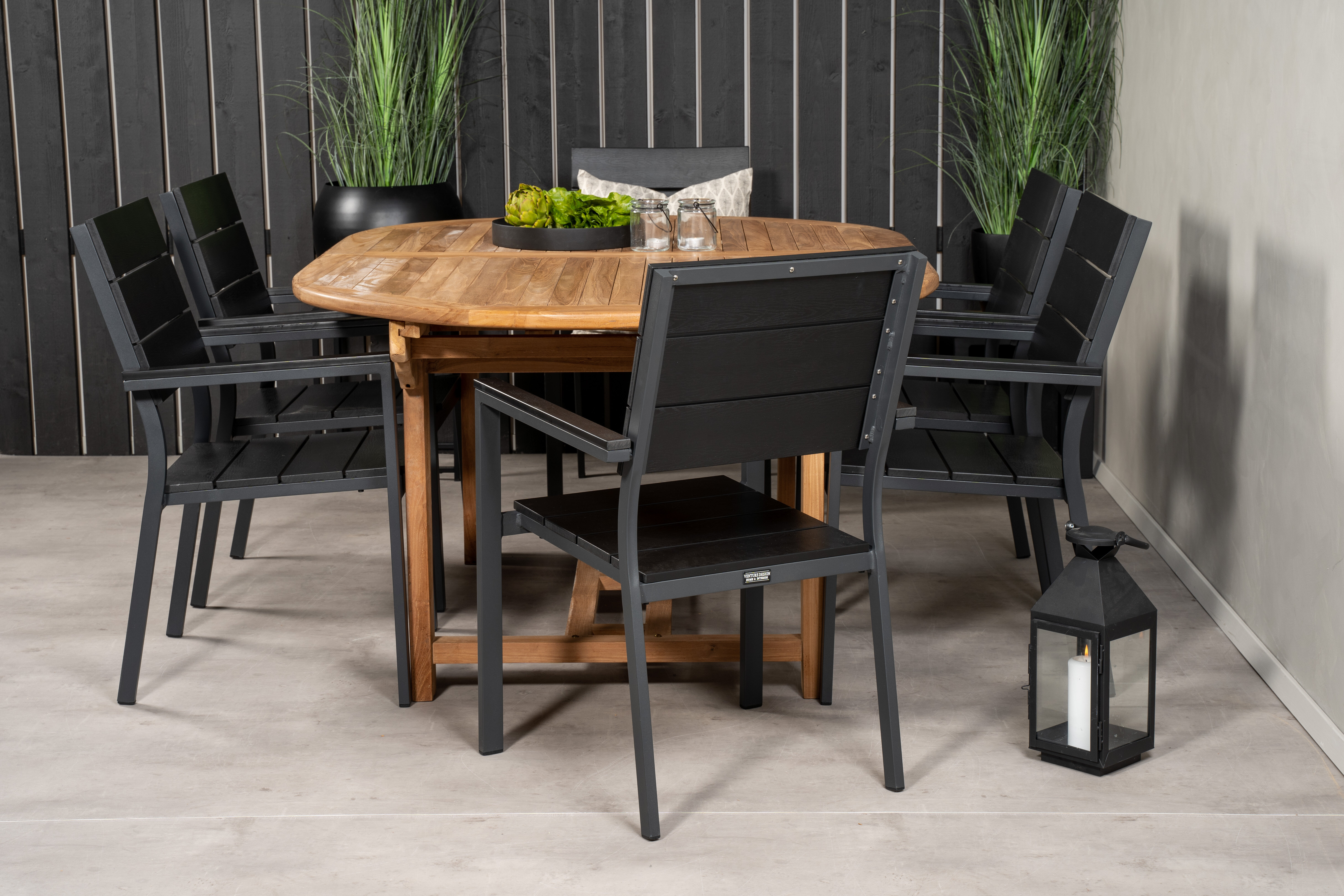 Sol 72 Outdoor Baek 6 Seater Dining Set Wayfair Co Uk