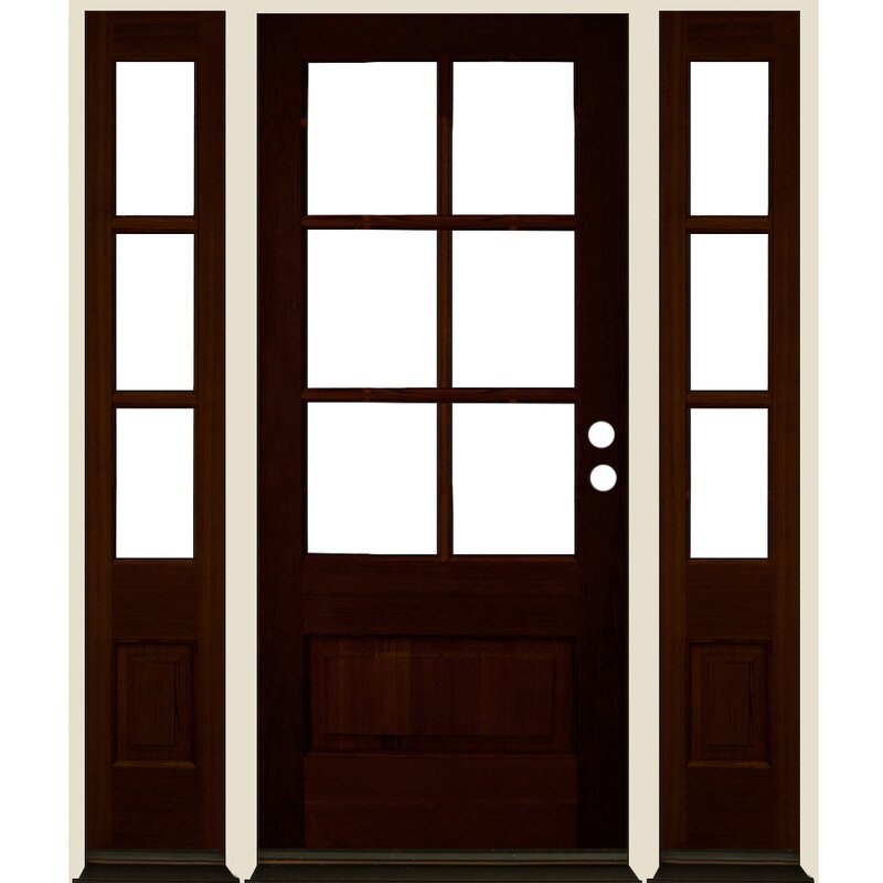 Welcome Home Doors Sidelite Ready to Install Fir Prehung ...