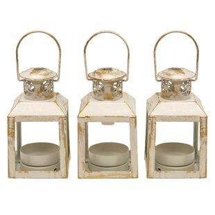 Astoria Grand Mini Metal Lantern (Set of 3)