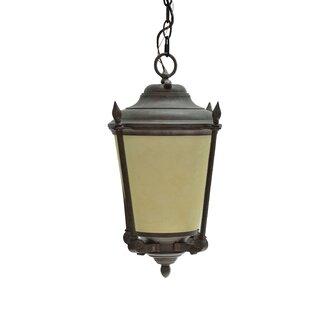 Aspen Creative Corporation 1-Light Outdoor Pendant
