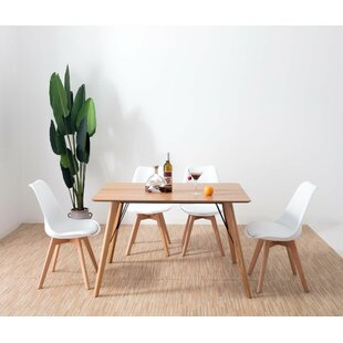 Preston Dining Set With 4 Chairs (Set Of 5) By Fjørde & Co