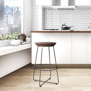 Amher Backless Metal 29.52 Bar Stool - set of 4 (Set of 4)