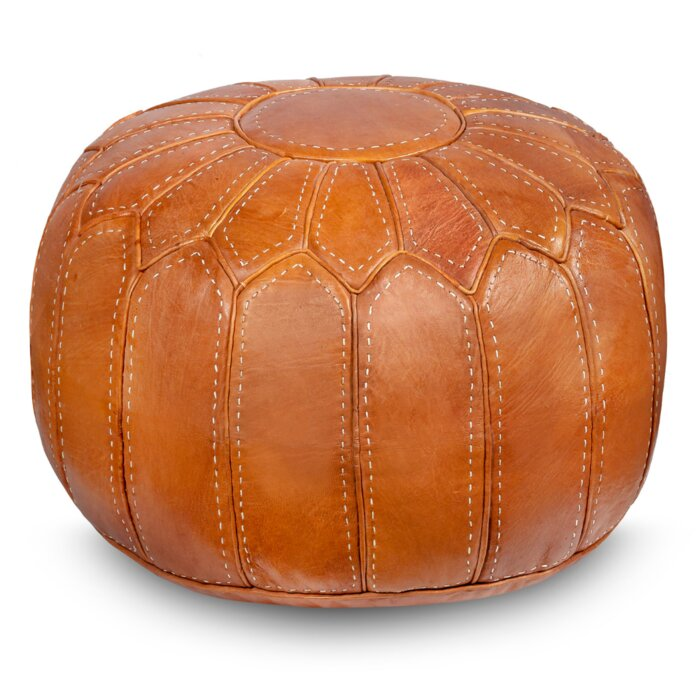 Miraculous Spada Moroccan Leather Pouf Lamtechconsult Wood Chair Design Ideas Lamtechconsultcom
