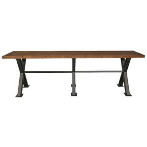 Durant Rustic Pine Dining Table by Trent Austin Design