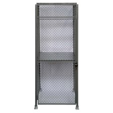 Storage 1 Double Shelving Unit Add-on by Acorn Wire and Iron Works