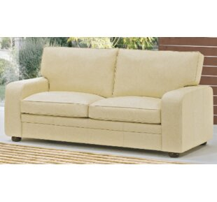 Ruthville Leather 3 Seater Sofa By 17 Stories