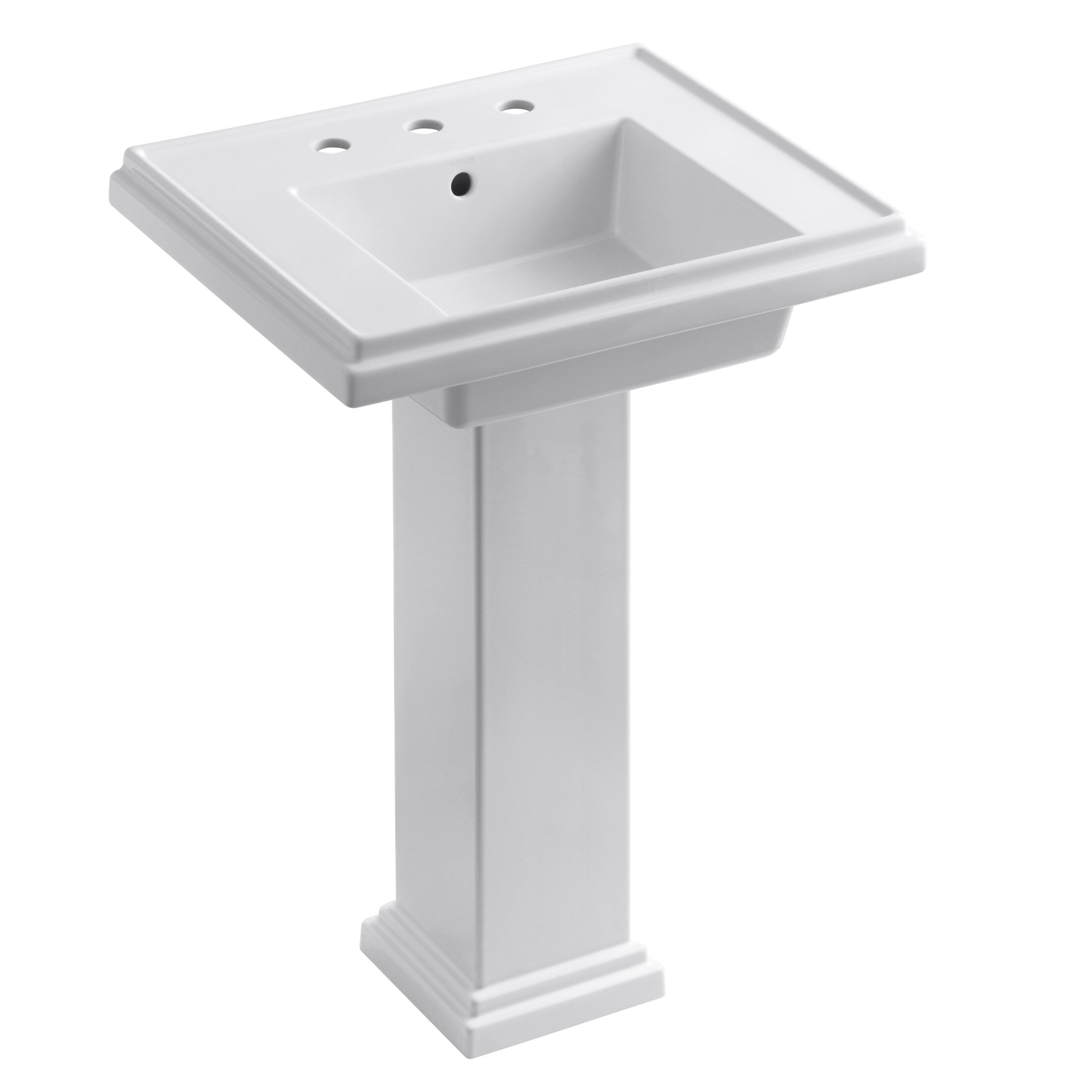 pedestal small kohler stereomiami sink awesome of archer bathroom architechture sinks square picture