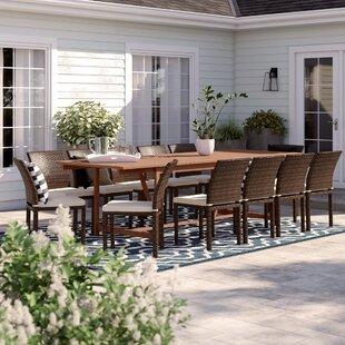 Brighton 13 Piece Dining Set With Cushions