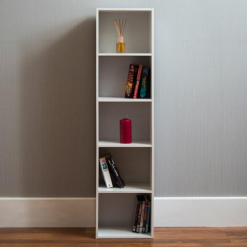 17 Stories Gerardi 5 Tier Cube Bookcase Reviews Wayfair Co Uk