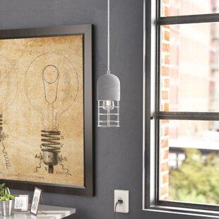 Veranda1-Light Cylinder Pendant by Trent Austin Design