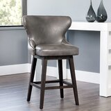 Roxann Bar & Counter Swivel Stool by Darby Home Co