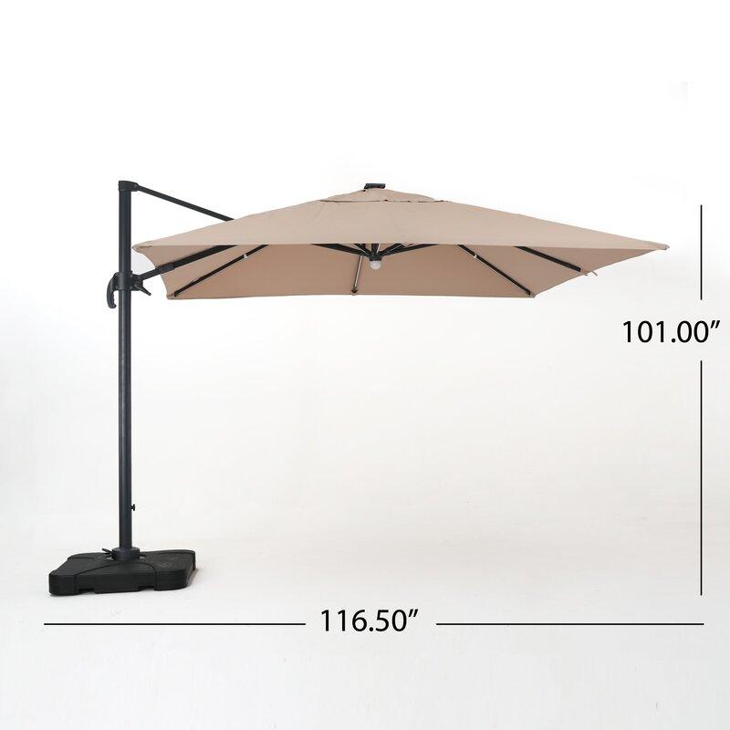 Jendayi Square Cantilever Umbrella