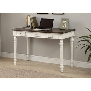 Racine 3 Drawer Writing Desk by August Grove Great Reviews