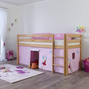 Giordano European Single Loft Bed By Zoomie Kids