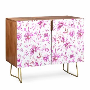 Schatzi Floral Accent Cabinet by East Urban Home