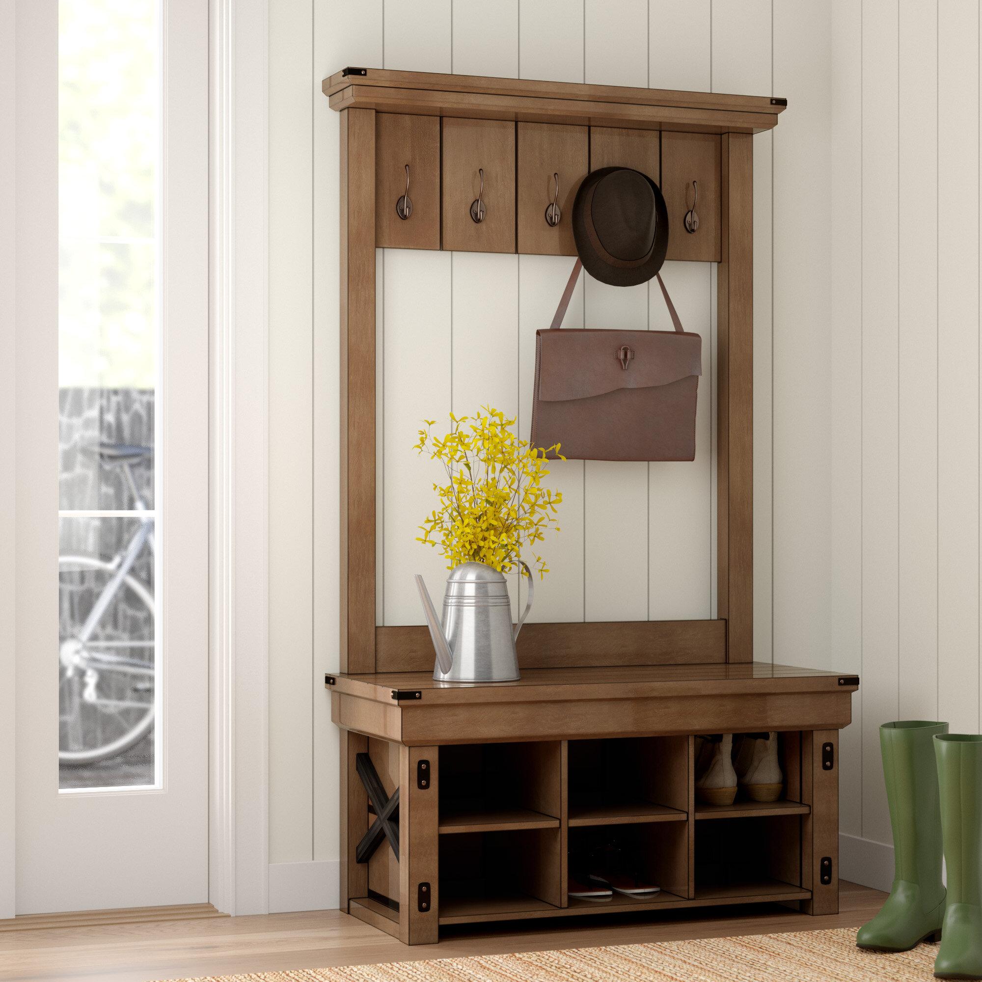 Laurel Foundry Modern Farmhouse Gladstone Hall Tree Reviews Wayfair