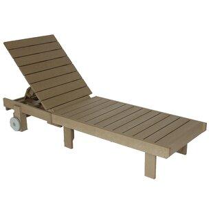Beachcrest Home Alanna reclining Chaise Lounge