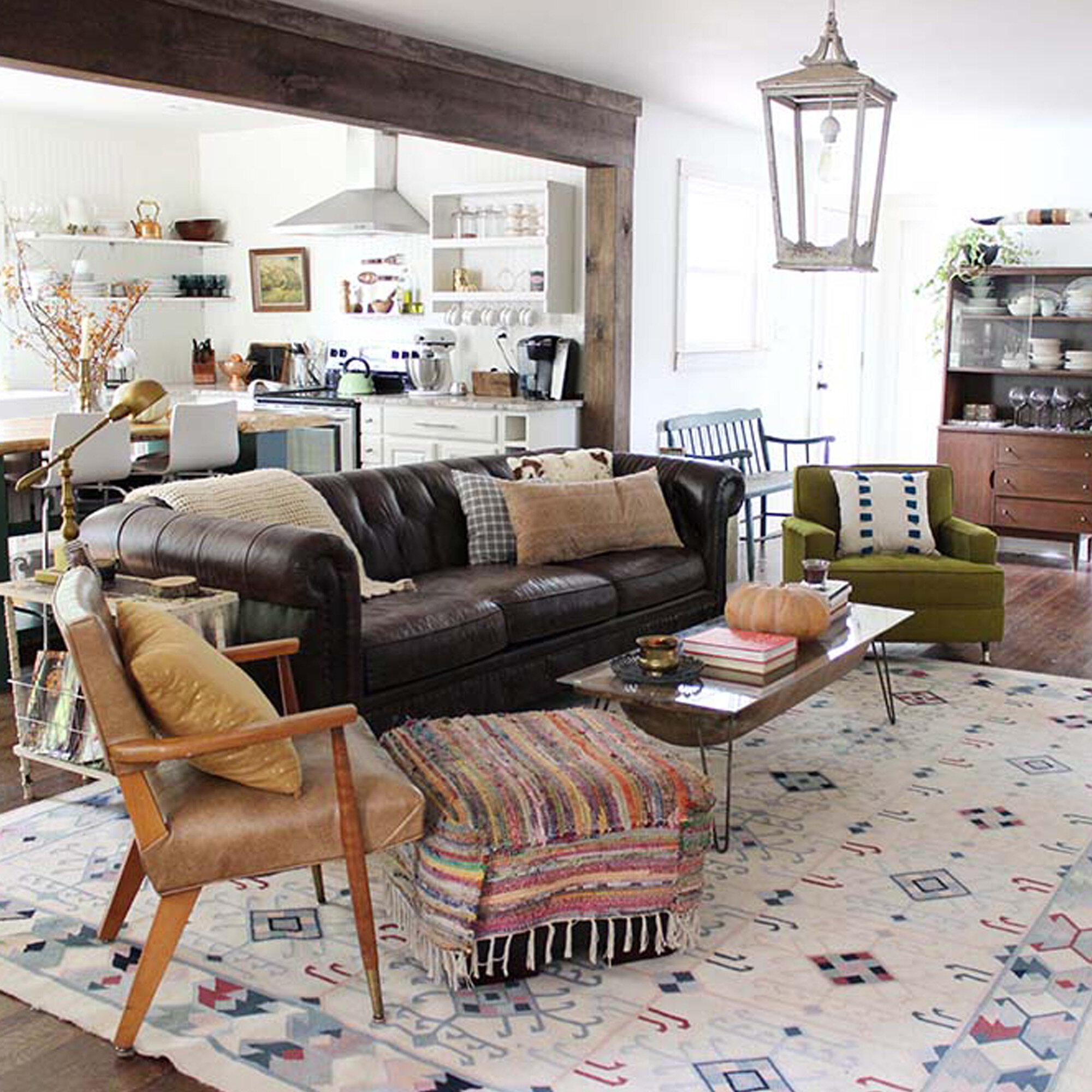 A Modern Farmhouse With A Boho Twist Allmodern