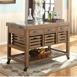 Bradner Kitchen Island by Foundry Select