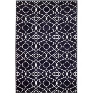 Find for Courtdale Navy Blue Area Rug By Charlton Home